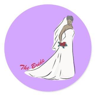 The Bride Favors sticker