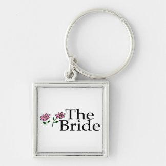 The Bride (Flowers) Keychain