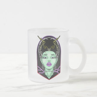 The Bride Frosted Glass Coffee Mug