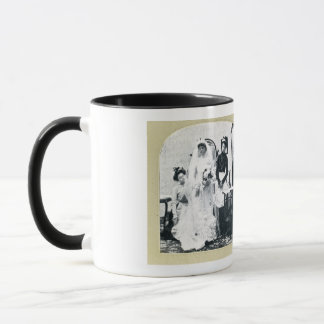 The Bride Gets Ready for the Ceremony - Stereoview Mug
