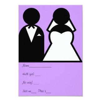 The Bride & Groom Card