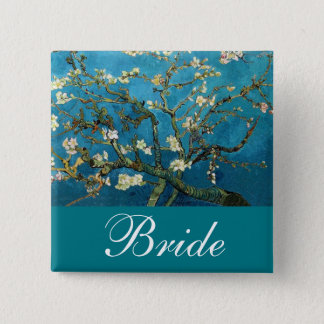 The bride /groom pin Blossoming Almond tree