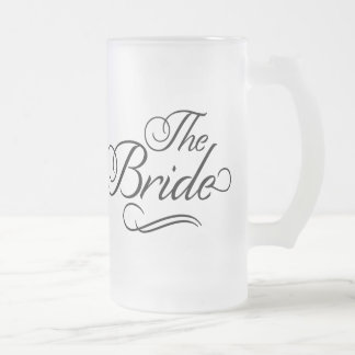 The Bride Honeymoon Beer Mug Black