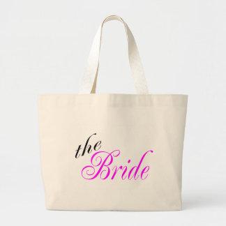 The Bride Large Tote Bag
