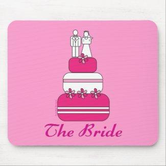 The Bride Mousepad mousepad