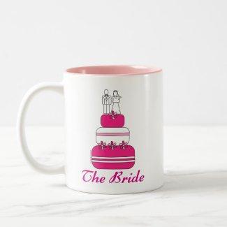 The Bride Mug mug