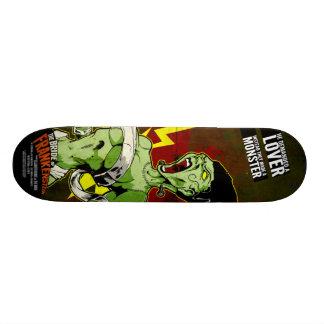 The Bride of Frankenstein Custom Skate Board