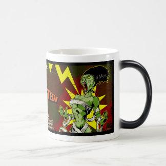 The Bride of Frankenstein 11 Oz Magic Heat Color-Changing Coffee Mug