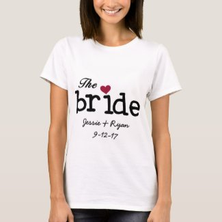 The Bride Personalized T-shirt