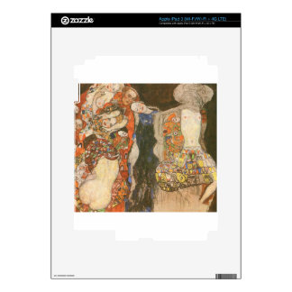 The Bride (unfinished) by Gustav Klimt Skin For iPad 3