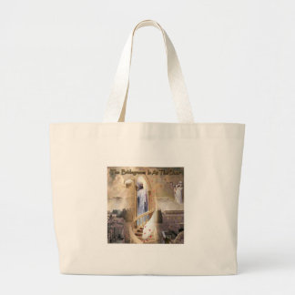The Bridegroom is at the Door Jumbo Tote Bag