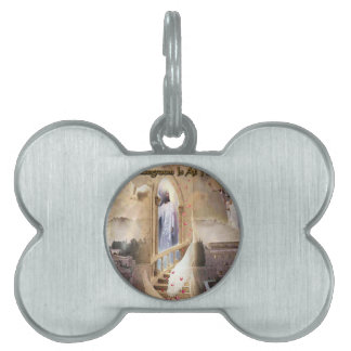 The Bridegroom is at the Door Pet Tag