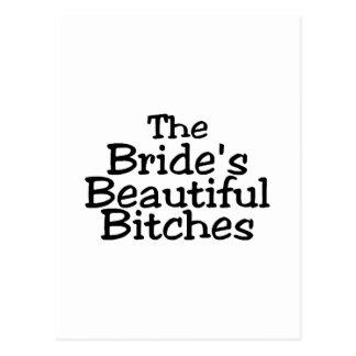 The Brides Beautiful Bitches Postcard