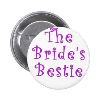 The Brides Bestie Pinback Button