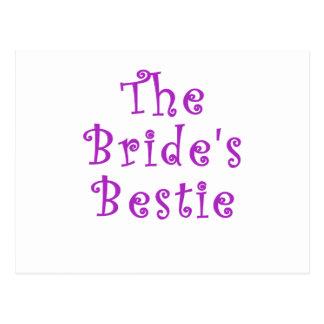 The Brides Bestie Postcard