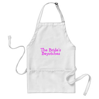 The Brides Beyotches Pink Adult Apron