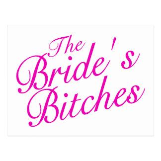 The Brides Bitches Postcard