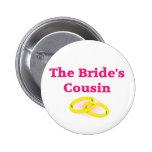 The Bride's Cousin Pinback Button