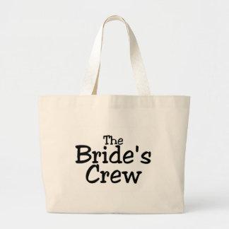 The Brides Crew 2 Large Tote Bag