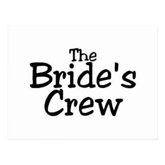 The Brides Crew 2 Post Card