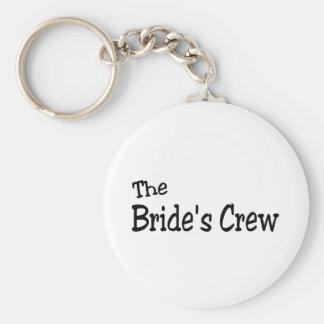 The Brides Crew (Black) Keychain