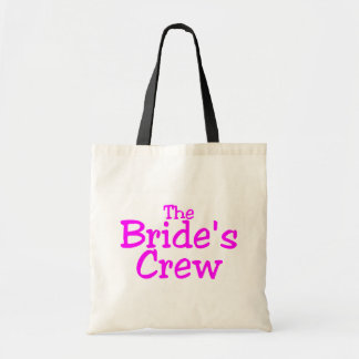 The Brides Crew (Pink) Canvas Bag