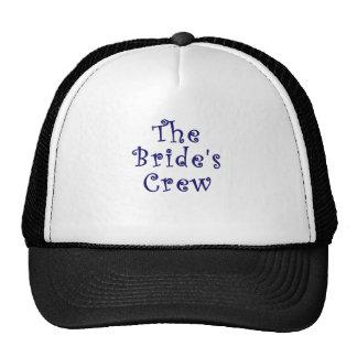 The Brides Crew Trucker Hat