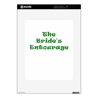 The Brides Entourage Skins For iPad