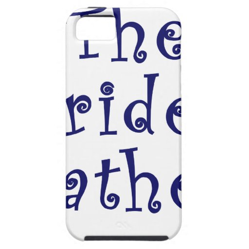 The Brides Father iPhone 5 Cover