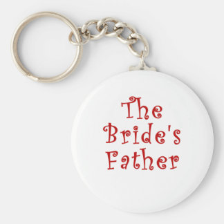 The Brides Father Keychain
