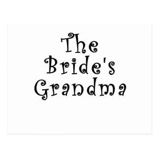The Brides Grandma Postcard