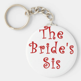 The Brides Sis Keychain