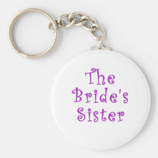 The Brides Sister Keychain