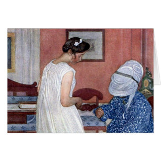 The Bridesmaid 1910 Card