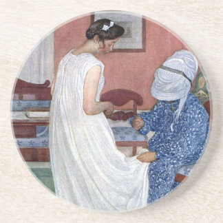 The Bridesmaid 1910 Coaster