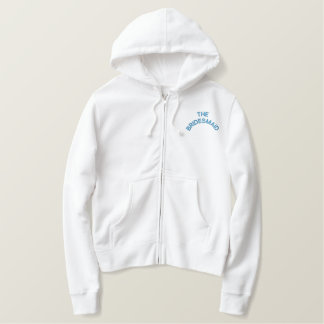 THE BRIDESMAID EMBROIDERED HOODIE