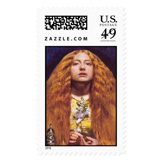 The Bridesmaid - Postage Stamp