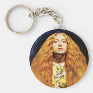 The Bridesmaid ~ Sir John Everett Millais Keychain