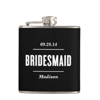 The Bridesmaid | Wedding Flask