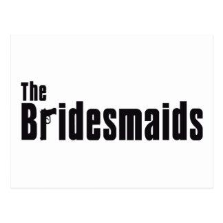 The Bridesmaids (Mafia) Postcard