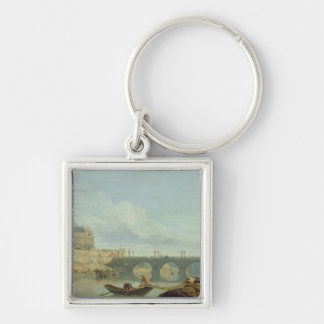 The Bridge and Castle Sant'Angelo, 1745 Keychain