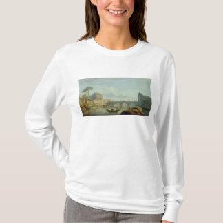 The Bridge and Castle Sant'Angelo, 1745 T-Shirt