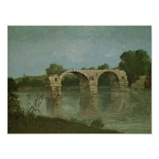 The Bridge at Ambrussum Poster