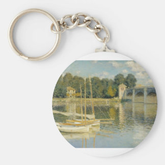The Bridge at Argenteuil (1874) Keychain