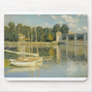 The Bridge at Argenteuil (1874) Mouse Pad