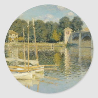 The Bridge at Argenteuil (1874) Stickers