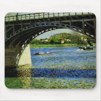 The Bridge at Argenteuil and the Seine Mouse Pad