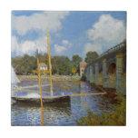 "The Bridge at Argenteuil by Claude Monet Tile<br><div class=""desc"">&#39;Impressionism&#39; beautiful images from legendary artists</div>"