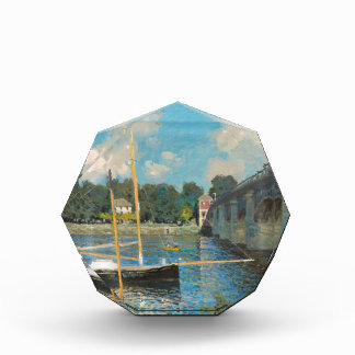 The Bridge at Argenteuil - Claude Monet Acrylic Award