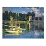 The Bridge at Argenteuil - Claude Monet Postcard